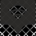 Wifi Internet Tag Icon