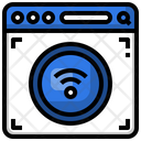 Wifi Browser Web Browser System Icon