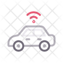 Car Vehicle Wireless Icon