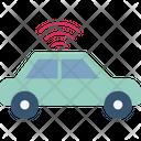 Wifi Car Innovation Internet Icon