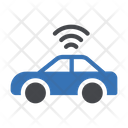 Wifi Car Smart Car Self Driving Car Icon