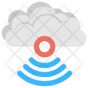 Cloud Signals Wifi Icon