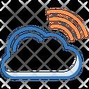 Cloud Network Wifi Cloud Wireless Network Icon