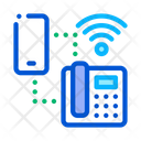 Smartphone Home Telephone Icon