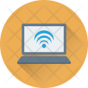 Wifi Connection Laptop Icon