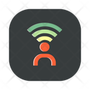 Wifi Contact Account Icon