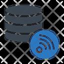 Database Storage Wifi Icon