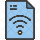 Wifi Wifi Details Wifi Password File Icon