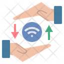 Wifi Signal Share Icon