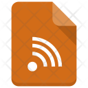 Wifi File Document Icon