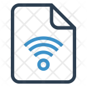Wifi File Sheet Icon