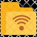 Wifi Folder Icon