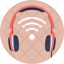 Wifi Headphones Wireless Icon