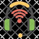 Wifi Headphones Icon