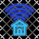 Wifi Home Wireless Signal Icon