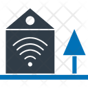 Wifi Home House Signals Icon