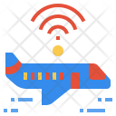 Wifi in plane Icon