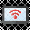 Wifi Laptop Icon
