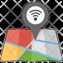 Wifi Location Connection Destination Icon