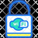 Wifi Lock Icon