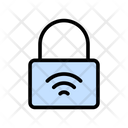 Lock Protection Wireless Icon