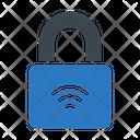 Padlock Signal Wireless Icon