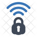 Wifi Lock Security Icon