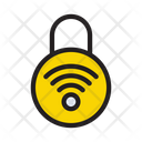 Lock Wireless Protection Icon