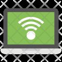 Wifi Network Laptop Icon