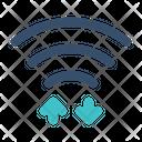 Wireless Wifi Data Icon