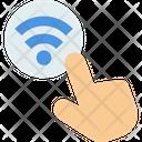 M Wifi On Wifi On Wifi Off Icon