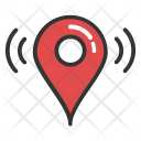 Wifi Location Positioning Icon