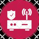 Wifi Protection Private Wifi Vpn Router Icon