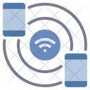 Connect Share Wifi Icon