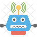 Wifi Robot Humanoid Icon