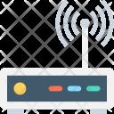 Modem Signals Internet Icon