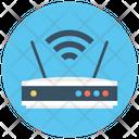 Wifi Router Wifi Modem Wifi Signals Icon