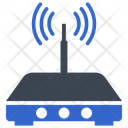 Network Router Signal Icon