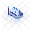 Wifi Router Device Icon