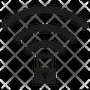 Wifi Security Wireless Key Icon