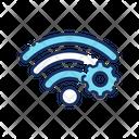 Wifi Setting Wifi Configuration Wireless Configuration Icon