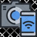 Wifi Sync Camera Connection Icon
