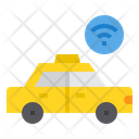 Taxi Smartphone Travel Icon