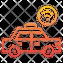 Taxi Smartphone Travel Icon