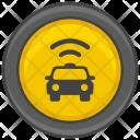 Wifi Taxi Icon
