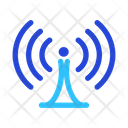 Tower Wireless Signal Icon