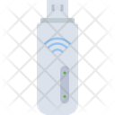 Wifi Usb Pendrive Data Storage Icon