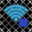 Virus Wireless Signal Icon