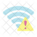 Wifi Warning Wifi Error Wireless Error Icon