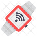 Wifi Watch Smartwatch Connected Watch Icon